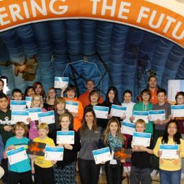 Students respond to winning the SaskPower CCS Challenge